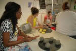 F2F promotes resiliency with pottery
