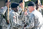 Division West welcomes new senior enlisted leader