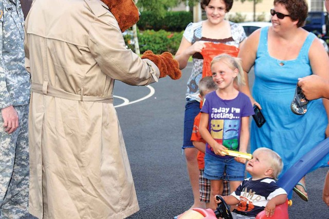 Event-goers are likely to run into McGruff the Crime Dog and pick-up some great tips on staying safe.