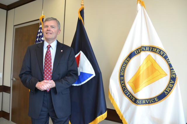 John Nerger, who, as the executive deputy to the commanding general of the Army Materiel Command, is the senior Army civilian at Redstone Arsenal, believes government service still provides plenty of opportunities for those who aspire to serve as public servants.