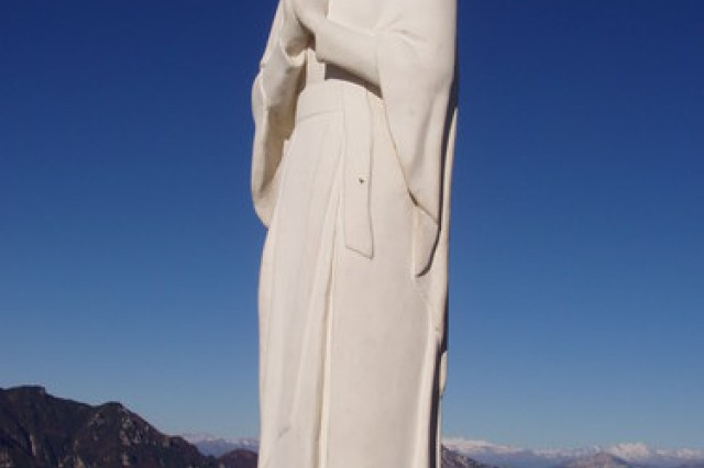 The Madonna della Sisilla was created by Odilla Lissa Dal Pra, and has become a famous pilgrimage site.  The statue continues to serve as a symbol of unity between Italy and the United States.   Each year hundreds of Italians meet at the base of the Sisilla Mountain to join in a Mass and ceremony to commemorate the event.