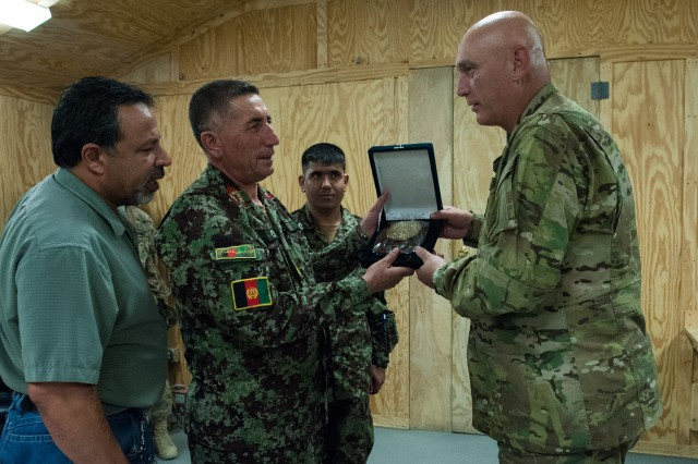 CSA visits Soldiers, leaders in eastern Afghanistan