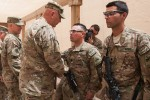 Odierno visits Soldiers in southern Afghanistan