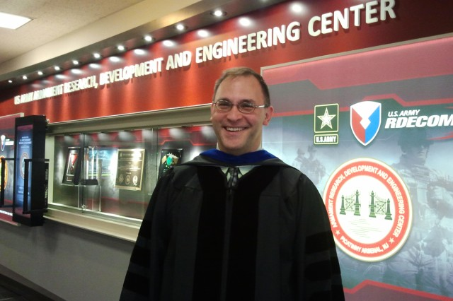 Don Carlucci, senior research scientist (ST) for computational structural modeling and Armament Academy Provost.
