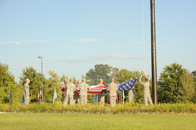 Proper respects should be rendered to the flag during Retreat and Reveille on Fort Leonard Wood.