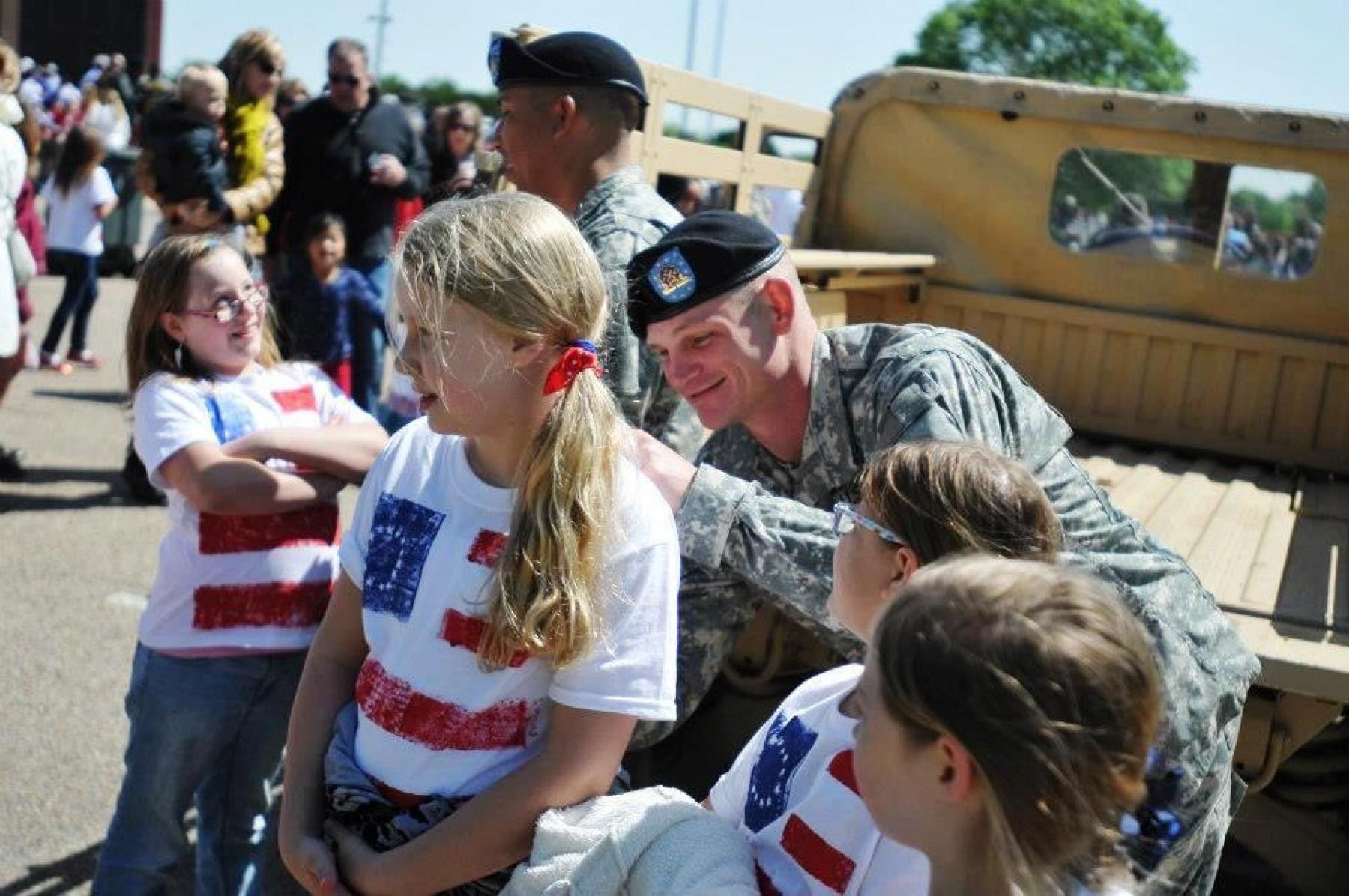 Providers, Lakewood Elementary celebrate Old Glory Day