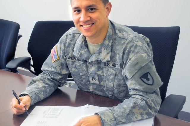 Staff Sgt. Arter E. Sweatman