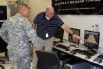 Recruiting Commander visits Army Game Studio