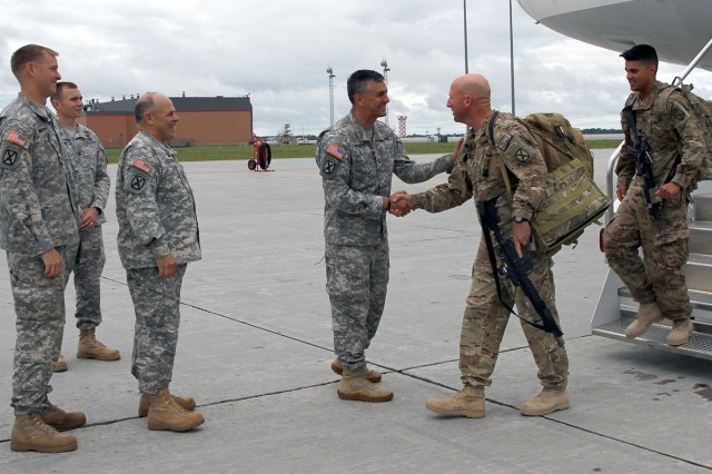 1st BCT Welcome Home