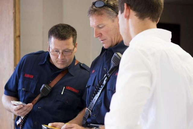 Emerging technology demonstrated for first responders in old barracks