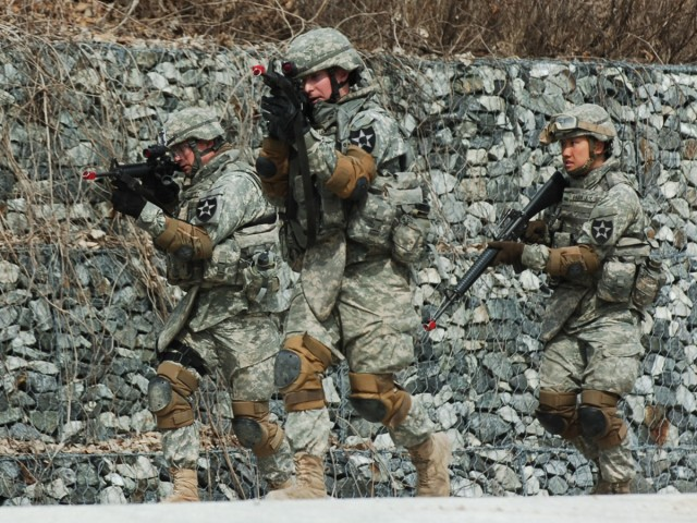 Eighth Army trains for task force mission during UFG
