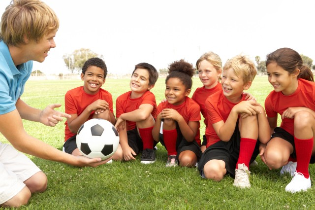 Soccer is just one of the sports offered through Child, Youth and School Services this fall. CYSS is looking for volunteer coaches this season. Call DSN 475-6655, CIV 09641-83-6655, for more information.