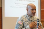 Fort Leonard Wood commanding general provides perspective on sustainability, embracing change through partnership