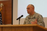 Fort Leonard Wood garrison commander provides perspective on sustainability