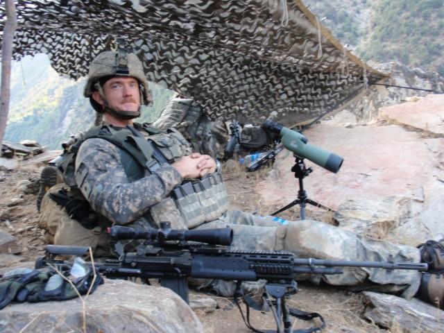Carter in Afghanistan