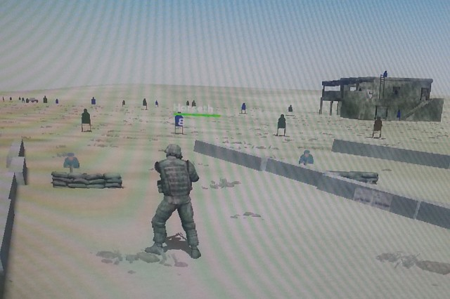 The Dismounted Soldier Training System is the first ever fully immersive virtual simulation training for U.S. Soldiers.