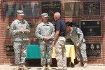 Vietnam veteran mentors law enforcement explorers at Fort Leonard Wood