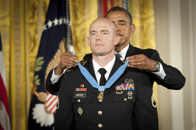 Staff Sgt. Ty Michael Carter Medal of Honor