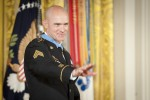 Medal of Honor ceremony in honor of Staff Sgt. Ty Carter