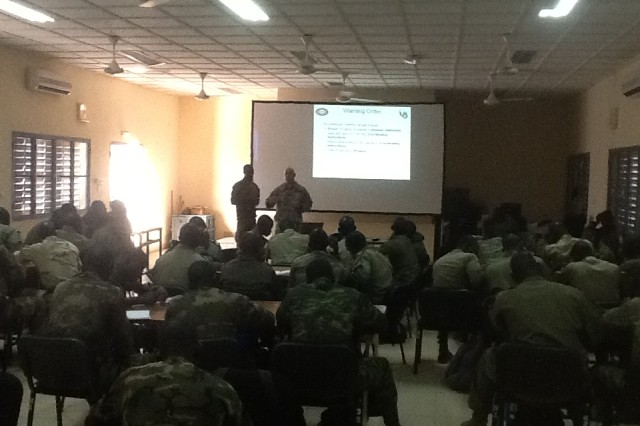 Training foreign militaries in their own countries requires adjustments and flexibility, which USASATMO Soldiers demonstrated when real-time events along the Burkina Faso border with Mali changed during the seven-week instruction period.