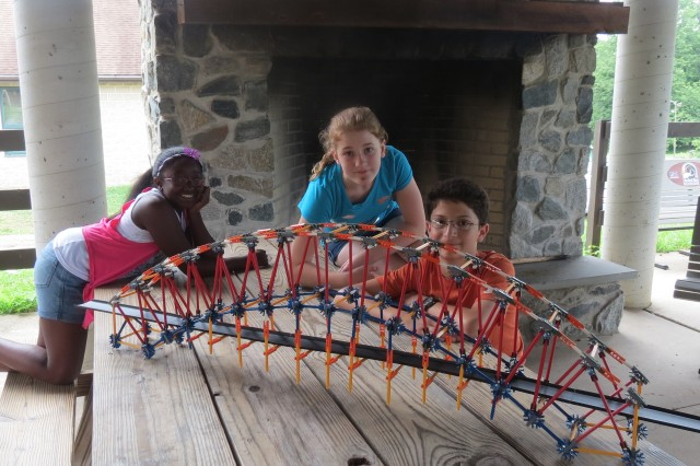 Activities at the CERDEC Math and Science Summer Camp were designed to foster critical thinking, problem solving, teamwork and creativity.