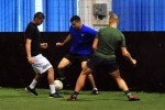 16th SB Soldier builds international partnership through soccer