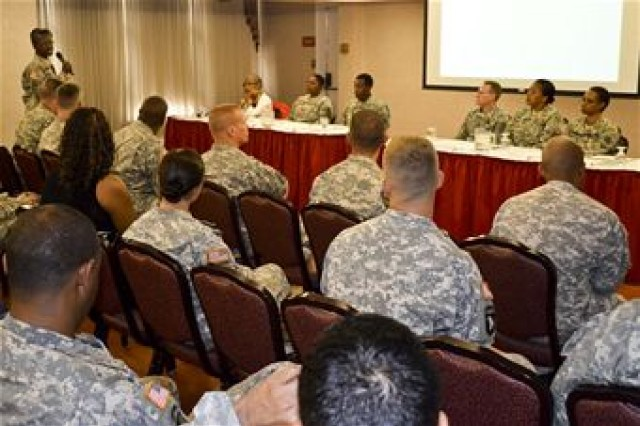 Fort Eustis WTU Soldiers discuss concerns at town hall meeting