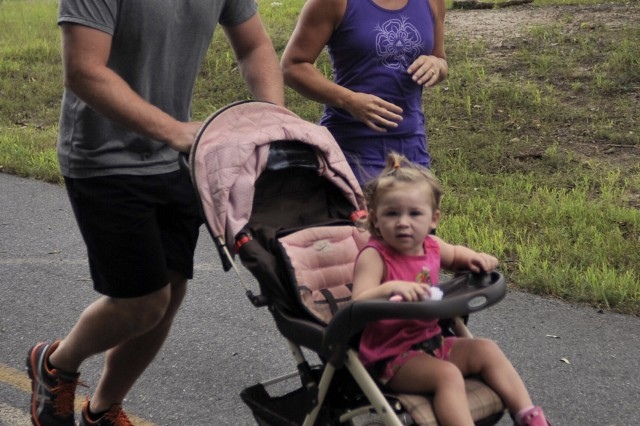 Runners of all ages participated in the USAG Fort A.P. Hill, Va. Labor Day 5-kilometer Walk and Run on Aug. 28.