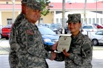Poster child for 'Be, Know, Do' receives NCO of the Year honors