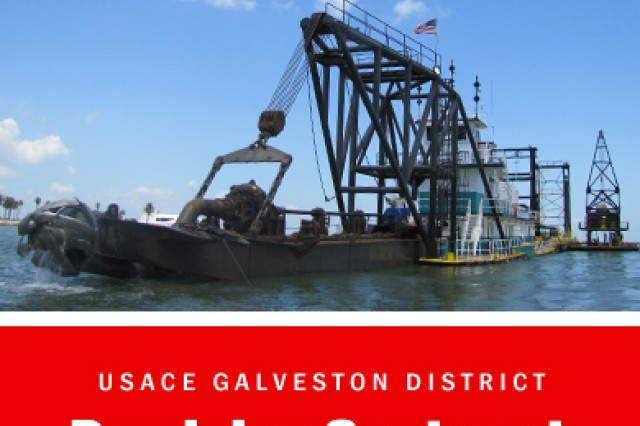 GALVESTON, Texas - The U.S. Army Corps of Engineers Galveston District awarded a contract in the amount of $13,287,950 to Seattle, Wash.-based Manson Construction Company to perform maintenance dredging within the Galveston inner and outer bar, entrance channel and a portion of the Houston Ship Channel.