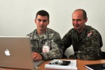 US soldiers partner with Croatian Army to form IR13 Mayor's Cell