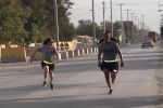 Triple Nickel soldiers stay fit as deployment wraps up