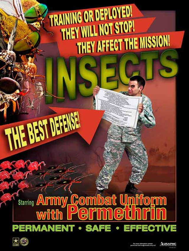 Army launches website about permethrin factory-treated ACUs