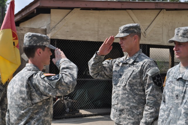 Recognizing Soldiers' effort during UFG