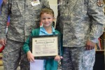 Rainbow Elementary student receives recognition for outstanding run time