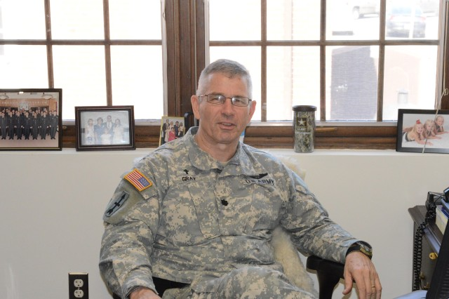 "Joint Force Headquarters - National Capital Region and the U.S. Army Military District of Washington employee Chaplain (Lt. Col.) James ""Dusty"" Gray"