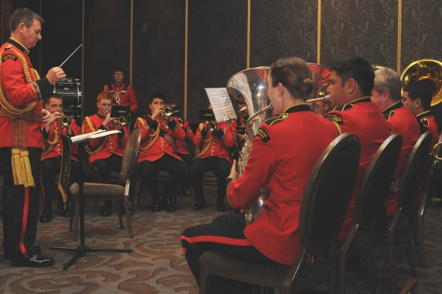 "The New Zealand Army band performs during the annual Pacific Armies Management Seminar opening ceremony. The band also performed at the biennial Pacific Armies Chiefs Conference opening ceremony immediately followed the PAMS opening.  The U.S. Army and the New Zealand Army are co-hosting PACC/PAMS at the Langham Hotel in Auckland, New Zealand, Sept. 9-11, 2013.  The theme for the conference is, ""The Sum is Greater than the Parts: 21st Century Peace Operations in a United Nations Context."""