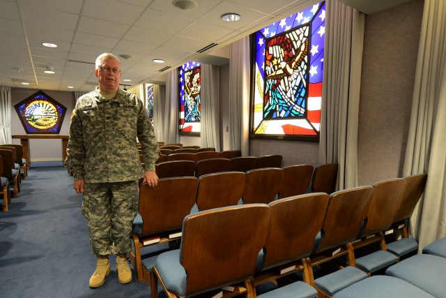 Army Chaplain: Pentagon Memorial Chapel place to grieve, reflect, heal