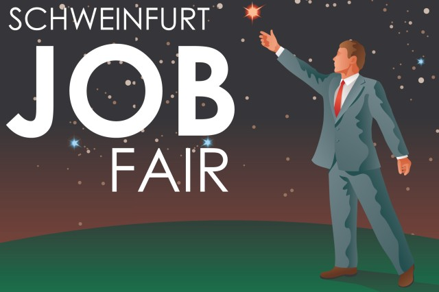 Companies throughout Schweinfurt reach out Sept. 28 to students, Soldiers, Family members and civilians wanting to live and work in Germany through a German-American job fair.