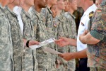 V Corps honors German military badge recipients, thanks Bundeswehr for support in final ceremony