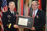 USAREUR honors former Wiesbaden lord mayor for friendship, support