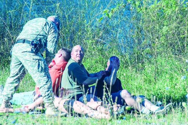 Emergency response professionals from Fort Drum and the local community took part in a full-scale mass casualty exercise last week at Wheeler-Sack Army Airfield simulating an active-shooter scenario.