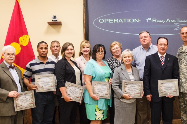 Anniston Army Depot recognizes Chamber for Operation 1st RATE