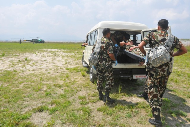USARPAC, Nepalese army operationalize disaster response plan during 4-day exercise