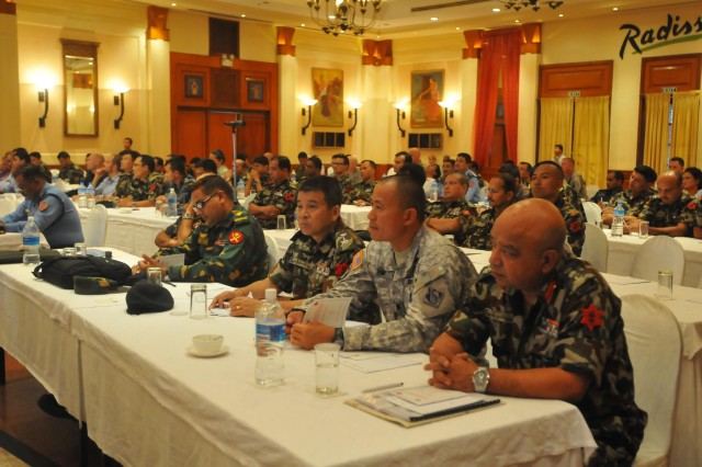 The Nepalese army and U.S. Army Pacific concluded the Nepal Pacific Resilience Disaster Response Exercise & Exchange, or DREE, with a morning of collaborative after-action reviews, followed by a closing ceremony, Sept. 12, 2013, in Kathmandu, Nepal. The DREE, co-hosted by the Nepalese army and USARPAC, ranSept. 9-12, and was the first in Nepal to include a field training exercise designed to practically apply civil-military disaster preparedness and response initiatives when faced with a massive earthquake scenario.