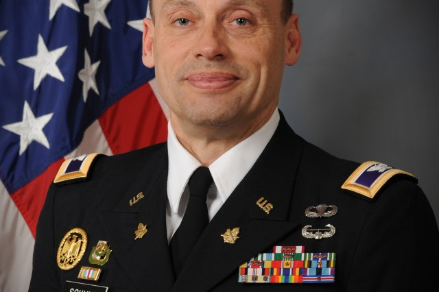 Col. Martin Schulz, commander 3rd Brigade, 100th Division. Schulz, an Army Reserve soldier is managing director of PNC's International Equity Fund as a civilian. The fund was ranked No. 1 out of 62 fund families in the world equity category for its 2012 performance by the financial publication Barron's. It currently has a five-star rating assigned by Morningstar, an independent organization that assigns ratings.