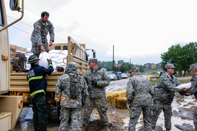Sandbags for Colorado Flood