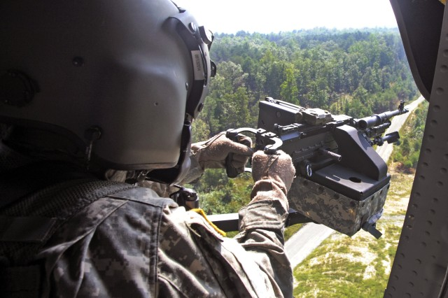 Delaware Army National Guard Soldiers hone their combat skills at A.P. Hill