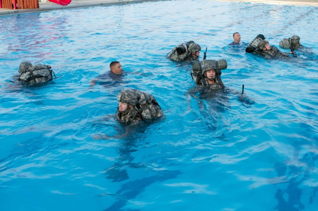 Water Survival Training helps Soldiers stay afloat | Article ...