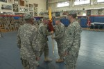 Maj. Gen. Richardson visits 595th Trans. Bde.